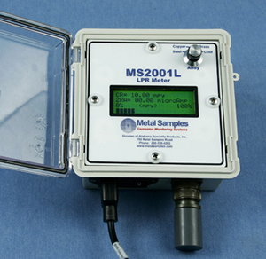 MS2001L - corrosion instrument - meter