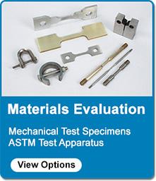 metal coupon samples