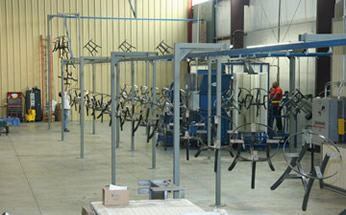 Powdercoating Services Alabama Laser Technologies